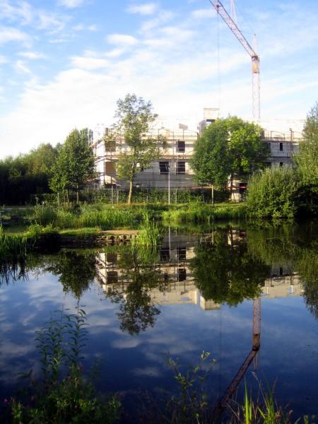 Haus am Fleet in Bremen-Findorff. Gemeinschaftlich bauen und investieren.